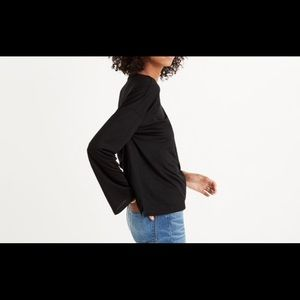 Madewell Tops - Madewell Libretto wide sleeve top NWT